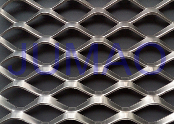 Eye Catching Architectural Expanded Metal Sebagai Building Covering / Fencing