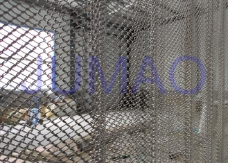 Rust Resistance Half Sheer Metal Mesh Gorden Untuk Hall Divider 1.0mm Wire